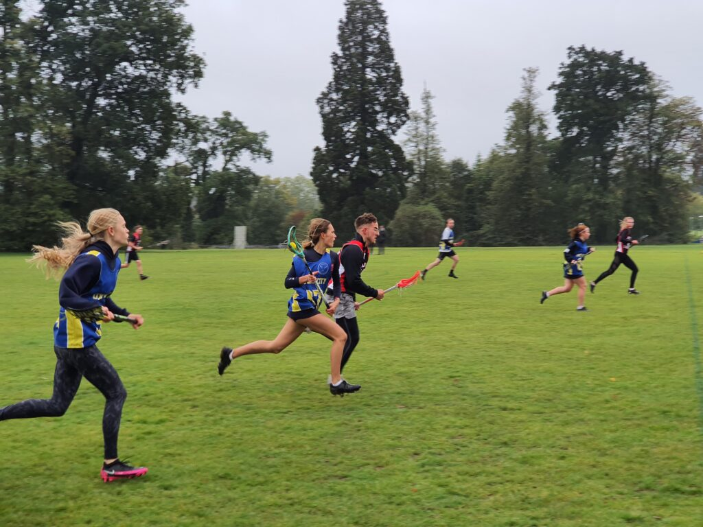 Oxford City Mixed player running 2020